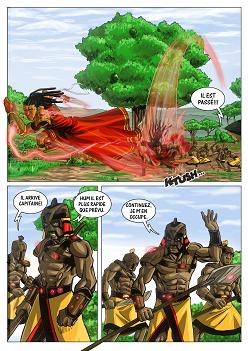 Extrait de la BD Aurion : l'héritage des Kori-Odan